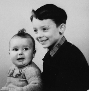 Steve and John Hackett as boys