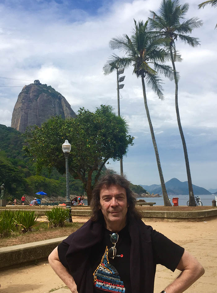 Steve and Sugarloaf Mountain, Rio, Brazil