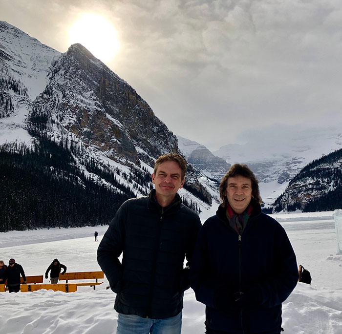 Andrew and Steve, Lake Louise