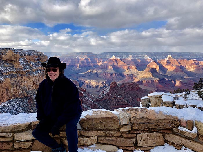 Steve at the Grand Canyon