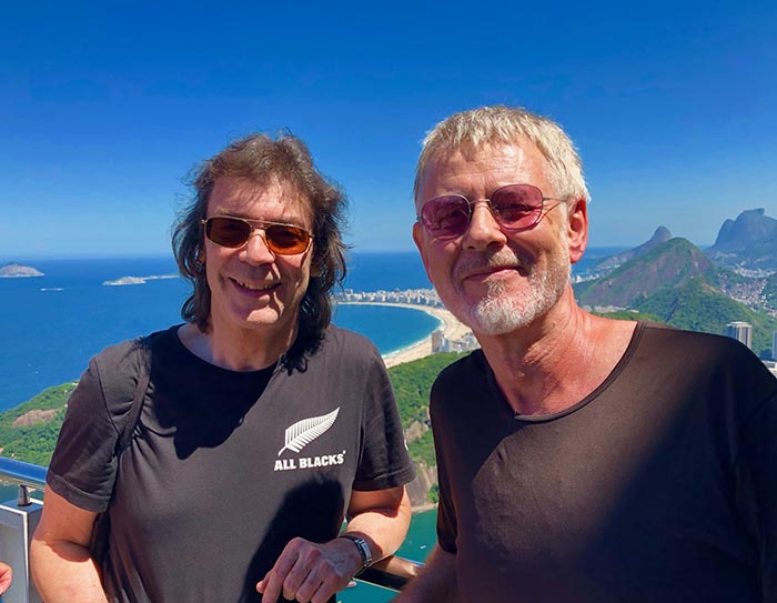 Steve and Ritchie on Sugarloaf