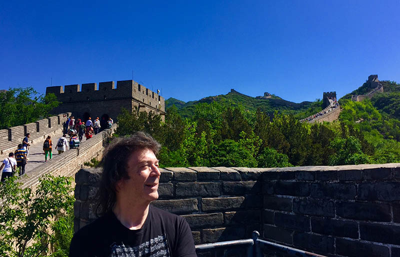 Steve at the Great Wall