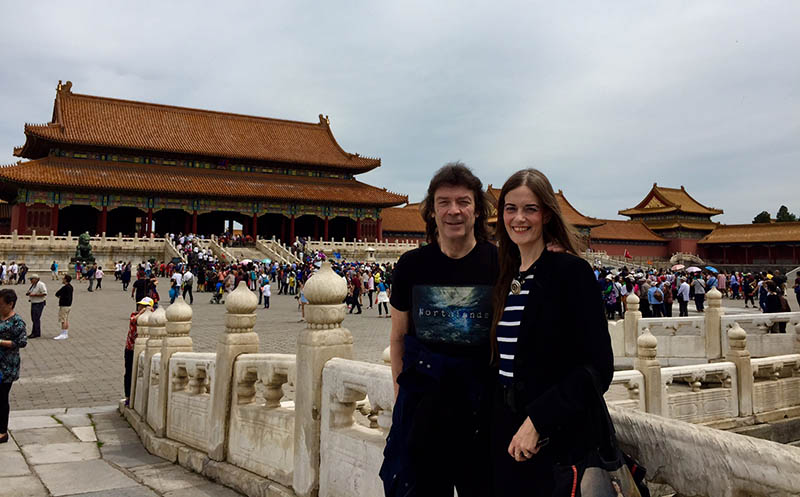 Steve and Jo in the Forbidden City