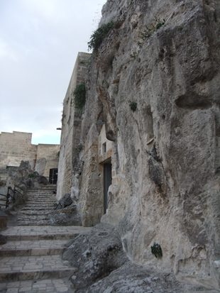 Cave dwellings of Matera