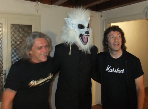 Sergio Fornasari, Nick Werewolf and Steve