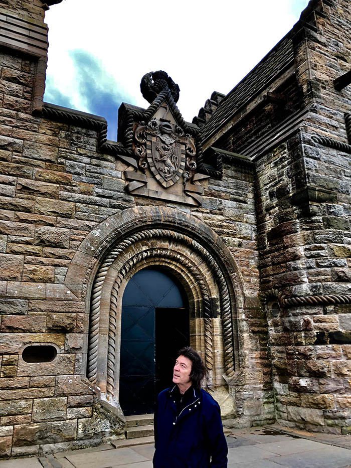 Steve at the Wallace Monument