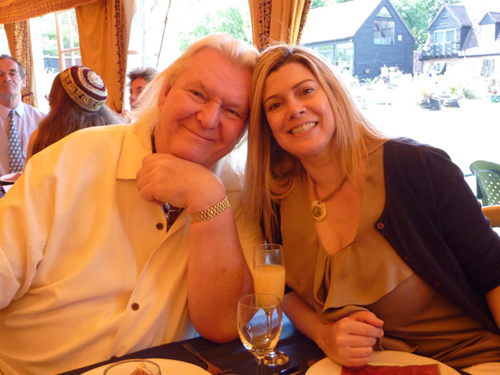 Chris and his wife Scotland at Steve and Jo's wedding, June 2011