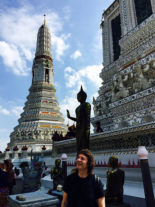 Wat Arun, Temple of the Dawn, in Bangkok