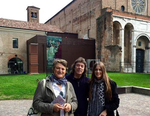 Vania, Steve and Jo in Padova
