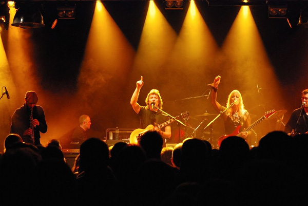 Steve Hackett Band, Airport Casino, Basel, Switzerland - November 2011