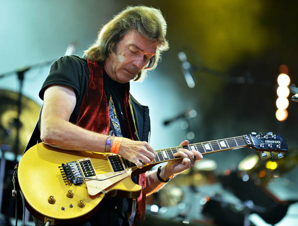 Steve Hackett Genesis Extended - Fairport's Cropredy Convention, Oxon, UK - August 2014