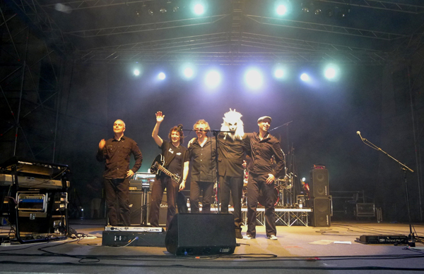 Steve Hackett Band, Piazza Castello, Mantova, Italy, July 2011