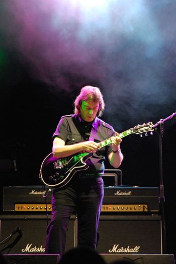 Steve Hackett Band, Estragon Club, Bologna, Italy, May 2011