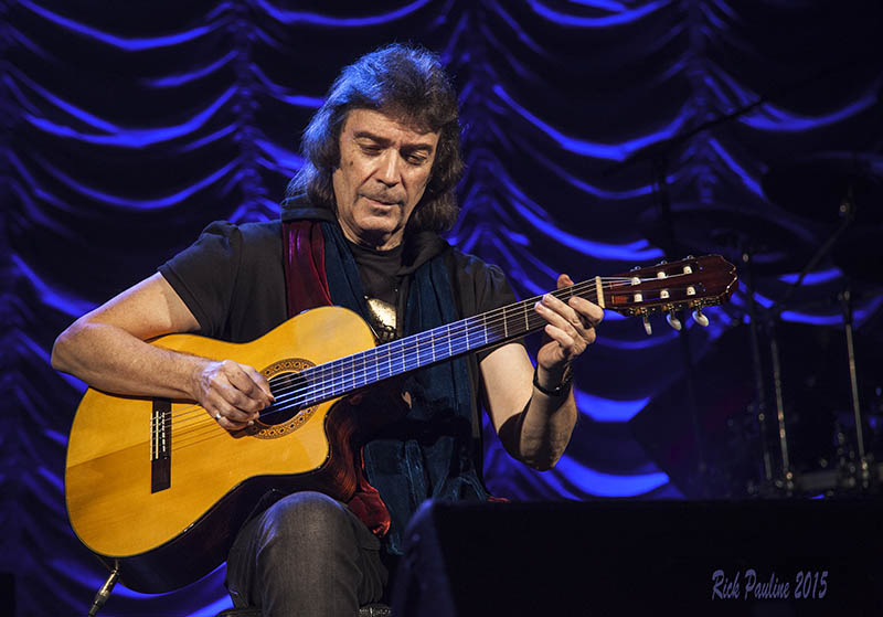 Steve Hackett Acolyte to Wolflight with Genesis Revisited Tour - Tarrytown, NY, USA - November 2015
