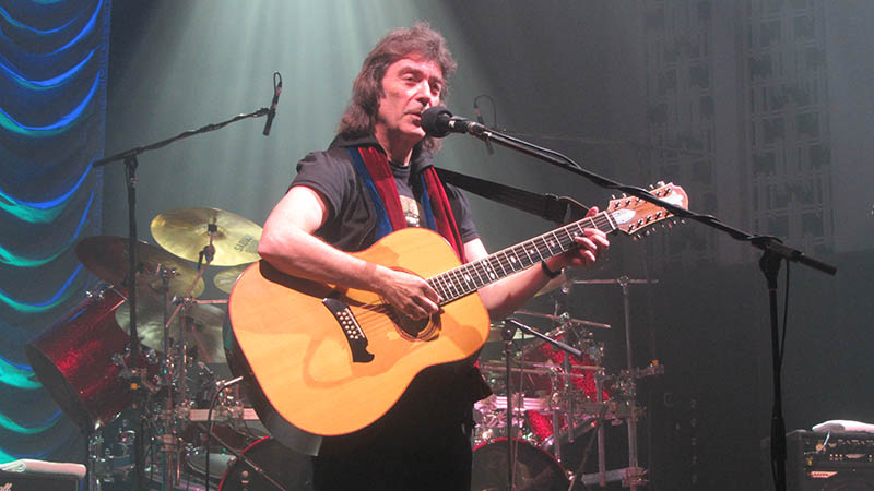 Steve Hackett Acolyte to Wolflight with Genesis Revisited Tour - Liverpool, UK, 2015
