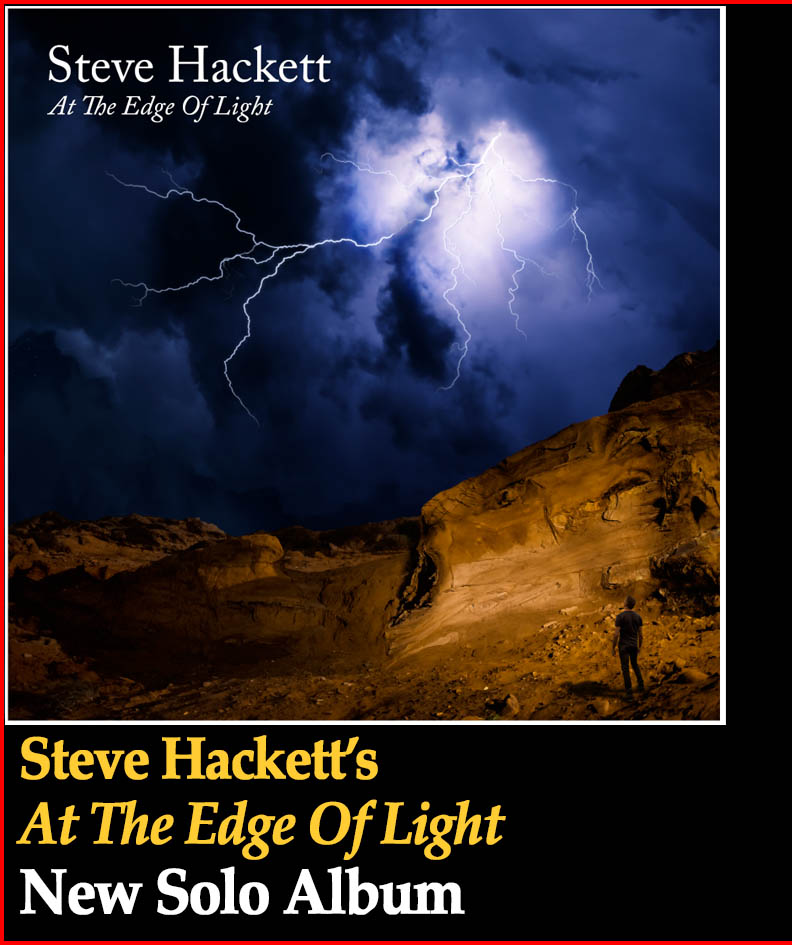 Steve Hackett solo album - At The Edge Of Light
