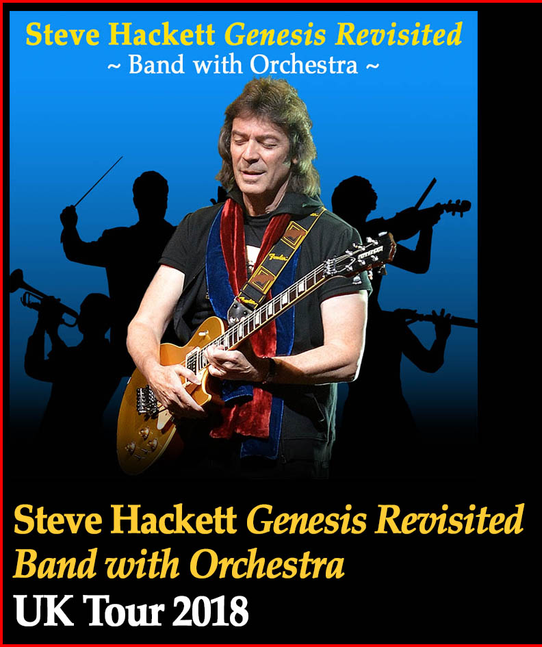 Hackettsongs steve hackett official website steve hackett genesis revisited band with orchestra m4hsunfo