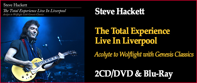 Steve Hackett - The Total Experience - Live In Liverpool DVD/CD