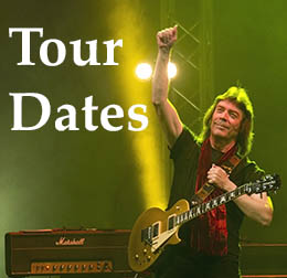 Steve Hackett tour dates