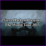 Steve Hackett - 2015 Tour advert