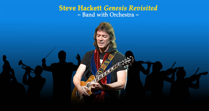 Steve Hackett Genesis Revisited - Band with Orchestra