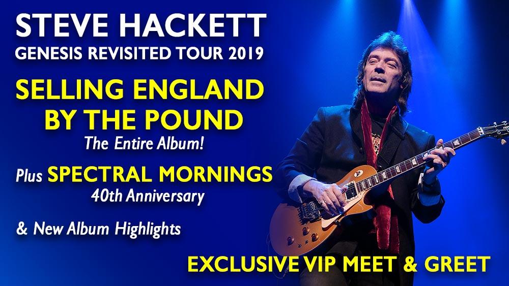 HackettSongs - Steve Hackett's Official Music Website