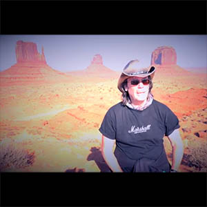 Steve Hackett visits Monument Valley