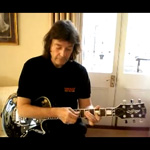 Steve Hackett and the Fernandes LesPaul