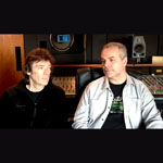Steve Hackett and Roger King video excerpt
