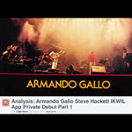 Armando Gallo and Steve Hackett - Early Days of Genesis